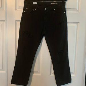 Woman's GAP black girlfriend Jeans